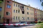 Dům v havířovské čtvrti Šumbark, kde v pondělí (18. května) odpoledne došlo k požáru, 19. května 2020. Zemřely při něm dvě malé děti.