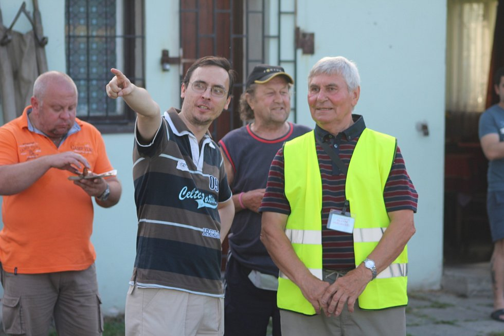 Günter Cviner, současný předseda klubu (vpravo).