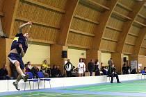 V hale badmintonu v Českém Těšíně se odehrají kvalifikační bitvy o první ligu.