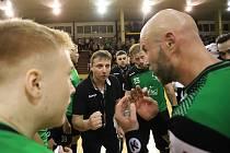Marek Michalisko (v černém) se bude věnovat už jen manažerské činnosti.