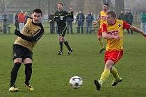 Fotbalisté Bohumína se dočkali první jarní výhry.