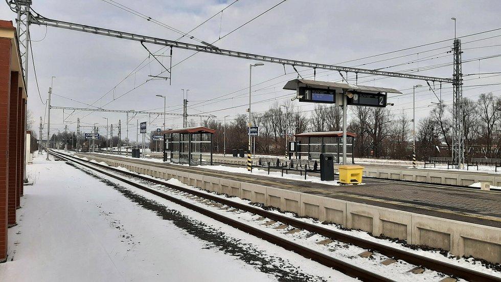 Chotěbuz, železniční stanice