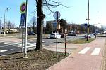 Dopravu v křižovatce u Merkuru v Havířově-Podlesí bude řídit světelná signalizace.