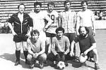 """Hornické kolektivy hrávaly v 80. letech místní fotbalovou """"ligu"""". Týmy se pojmenovávaly třeba i podle hospod, kde se scházely – Baron, Slza nebo Centrum."""