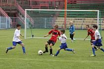 Turnaj malých fotbalistů v Havířově.