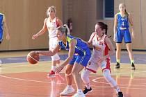 Basketbalistky Havířova si v tabulce polepšily.