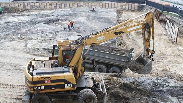 Rekonstrukce náměstí v Orlové.
