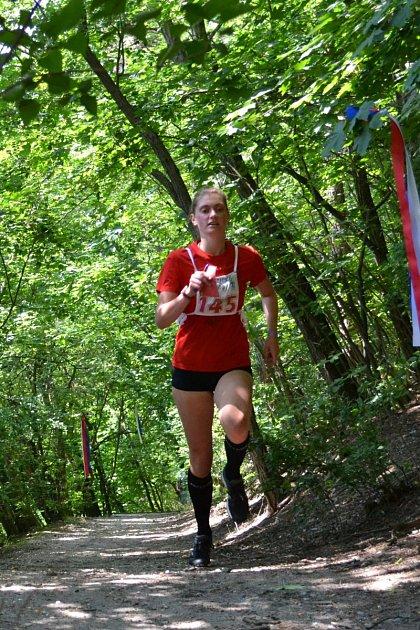 Magdaléna Gencová brala vcíli druhé místo.