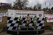 Nedělní závod Havířovský zlatý kahanec 2015 na Těrlickém okruhu.