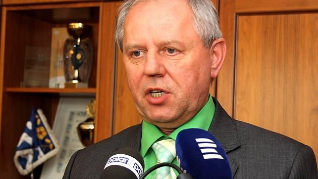 Primátor Havířova Zdeněk Osmanczyk na snímku z roku 2014.