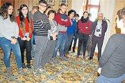 Karvinský Zámek Fryštát hostil zahraniční návštěvu ze šesti zemí.