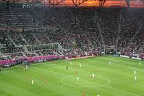 Fotbalový šampionát EURO v polské Vratislavi