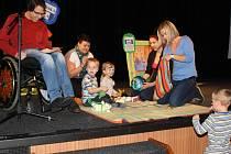 Zábavné odpoledne pro děti s autismem připravil spolek ADAM.