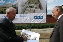 Slavnostní zahájení rekonstrukce náměstí TGM v Havířově-Šumbarku.
