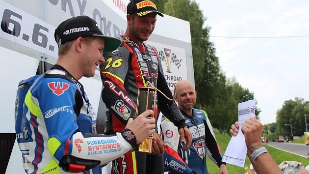 Mezinárodní motocyklové závody Havířovský zlatý kahanec 2018 vyhrál Danny Webb.