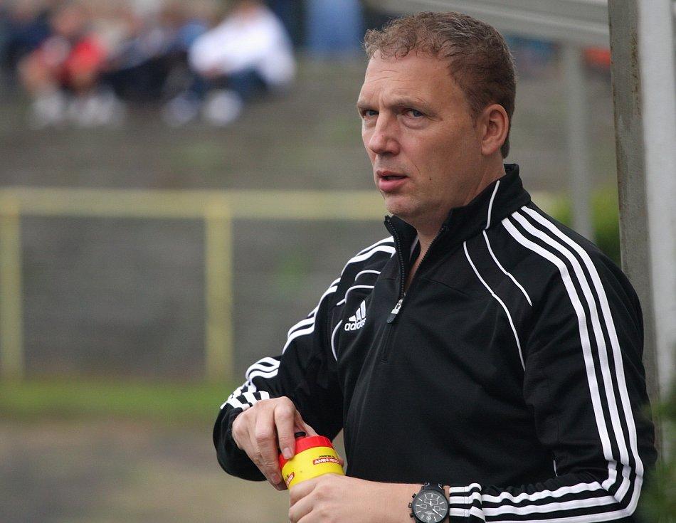 Vedoucí mužstva Petr Hort.
