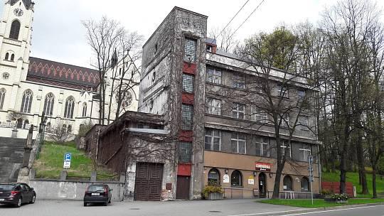 Historický dům ve staré Orlové.