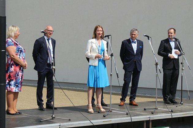 Velvyslankyně Švédska vČR Viktoria Li.