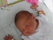 Linda se narodila 25. dubna mamince Daniele Rychlíkové z Ostravy. Po narození holčička vážila 3400 g a měřila 50 cm.