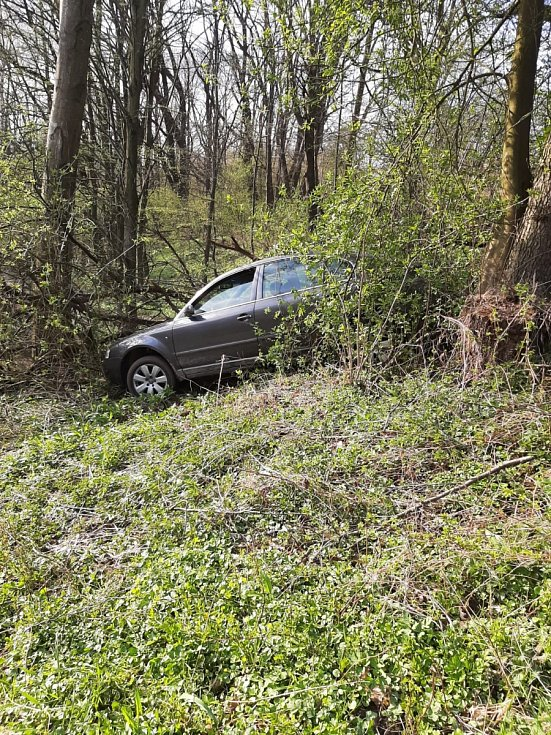 Snímek z pronásledování auta v Havířově.