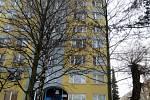 Dům v ulici 17. listopadu, kde 1. 1. 1969 k tragédii došlo.