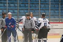 Připravný zápas havířovských hokejistů s celkem Francie.