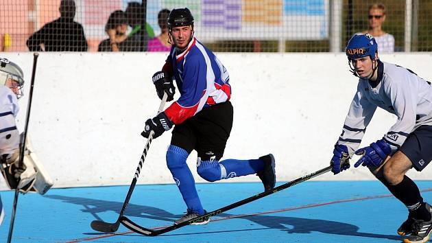 Hokejbalisté zklamali a play off jim utíká.