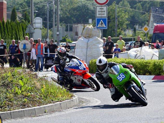 Závody silničních motocyklů na přírodním Těrlickém okruhu o Havířovský zlatý kahanec 2017.