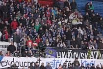 Havířovští fandové během prvního finále.