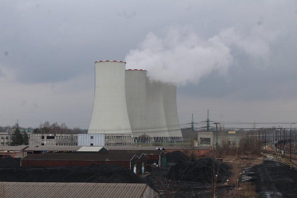 Dětmarovice. Elektrárna EDĚ.
