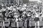První máj v Havířově v polovině 70. let.
