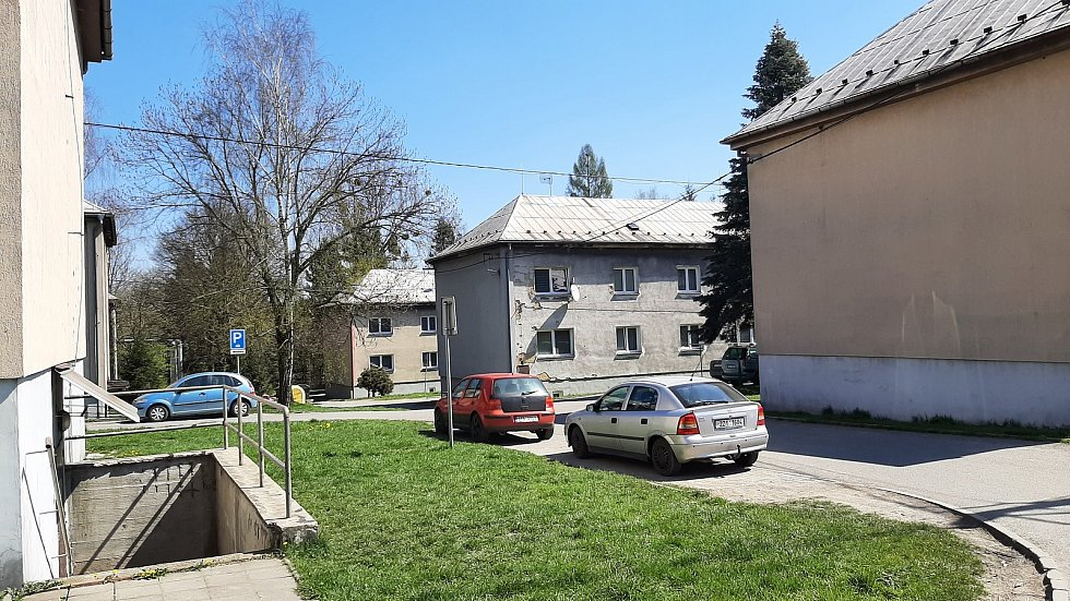 Orlová-Poruba. Kolonie u Žofinky.