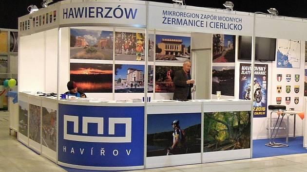 Havířovský stánek na veletrhu v Katovicích.