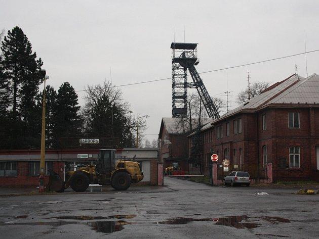 Bývalý Důl Barbora v Karviné.