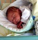 Daniel Pietrowski z Karviné, narozen 11. 8. Váha 3080 g, míra 49 cm. Maminka Markéta Peitrowská.