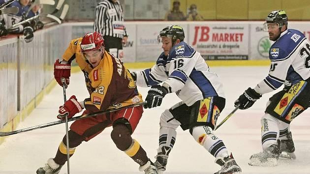 Havířovští hokejisté zabrali a získali důležité tři body!