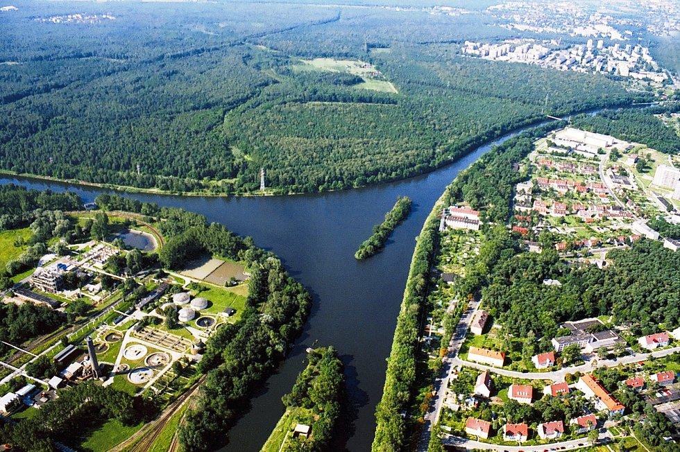 Křižovatka DOL v Polsku - Kiedzierzyn Koźle.