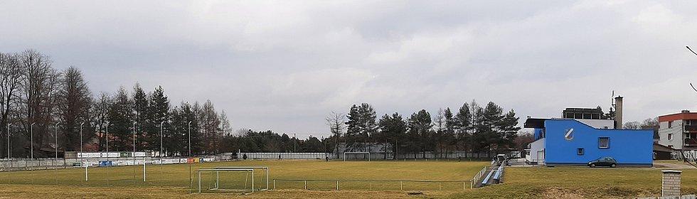Dětmarovice. Fotbalový areál SK Dětmarovice.
