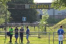 JZD Aréna, název areálu.