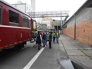 Slezský železniční spolek pořádá jízdu historickým vlakem a prohlídku pivovaru Radegast.