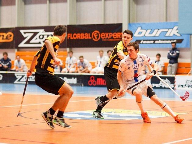 Mladí florbalisté Torpeda hrají o výhodnou pozici pro play off.