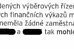 Výňatek z forenzního auditu MRA Havířov.