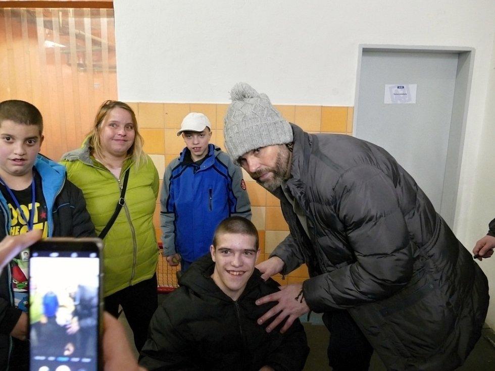 Jaromír Jágr a Tomáš Plekanec v Havířově.