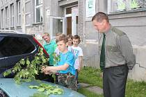 V Dolní Suché v se konala dětská soutěž v myslivosti.