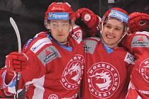 Michal (vlevo) a Ondřej Kovařčíkovi pokračují v Třinci.