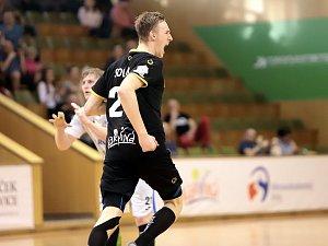 Karvinský Dominik Solák dal v Litovli devět branek.