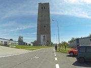 Těžní věž bývalého Dolu František v Horní Suché.