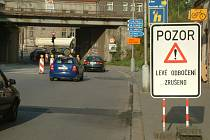 Dopravní omezení v Českém Těšíně