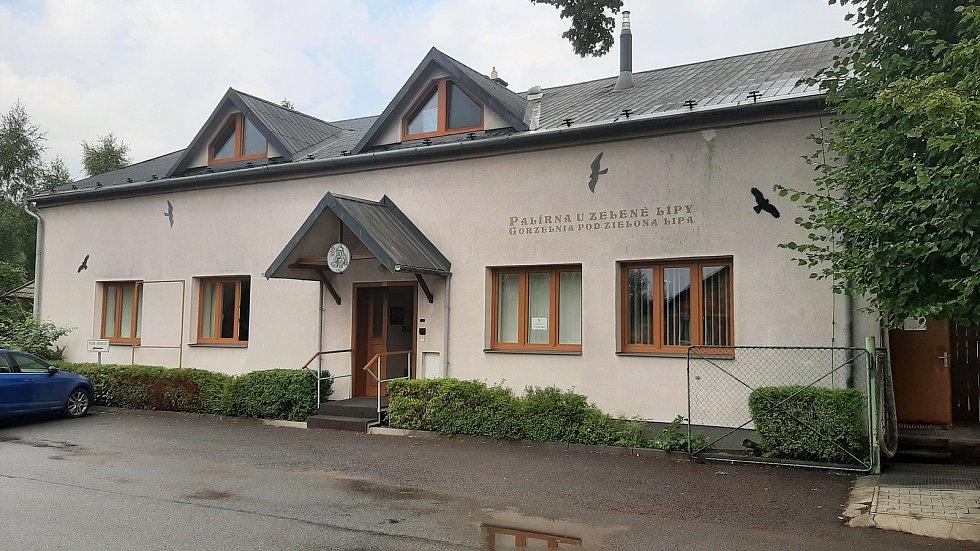 Palírna U zelené lípy, Stonava, červenec 2021.