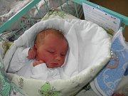 Václav Ondruš se narodil 3. února mamince Šárce Burkotové z Českého Těšína. Po porodu miminko vážilo 4180 g a měřilo 50 cm.